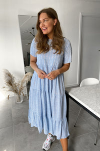 Honey Dress - Light Blue