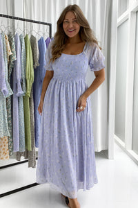 Lilje Dress - Lavender Blossom