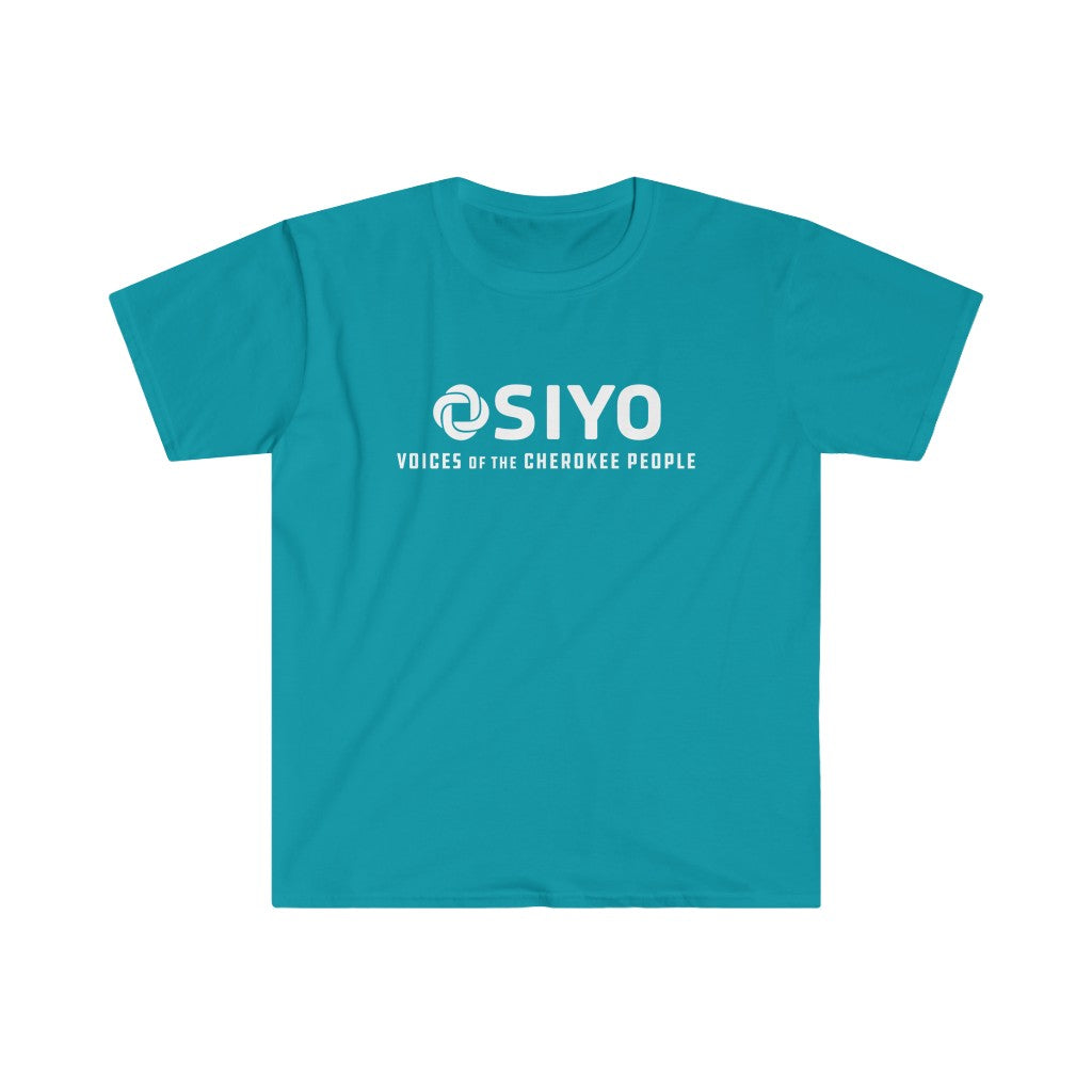 Gender Neutral Softstyle Tee - Teal