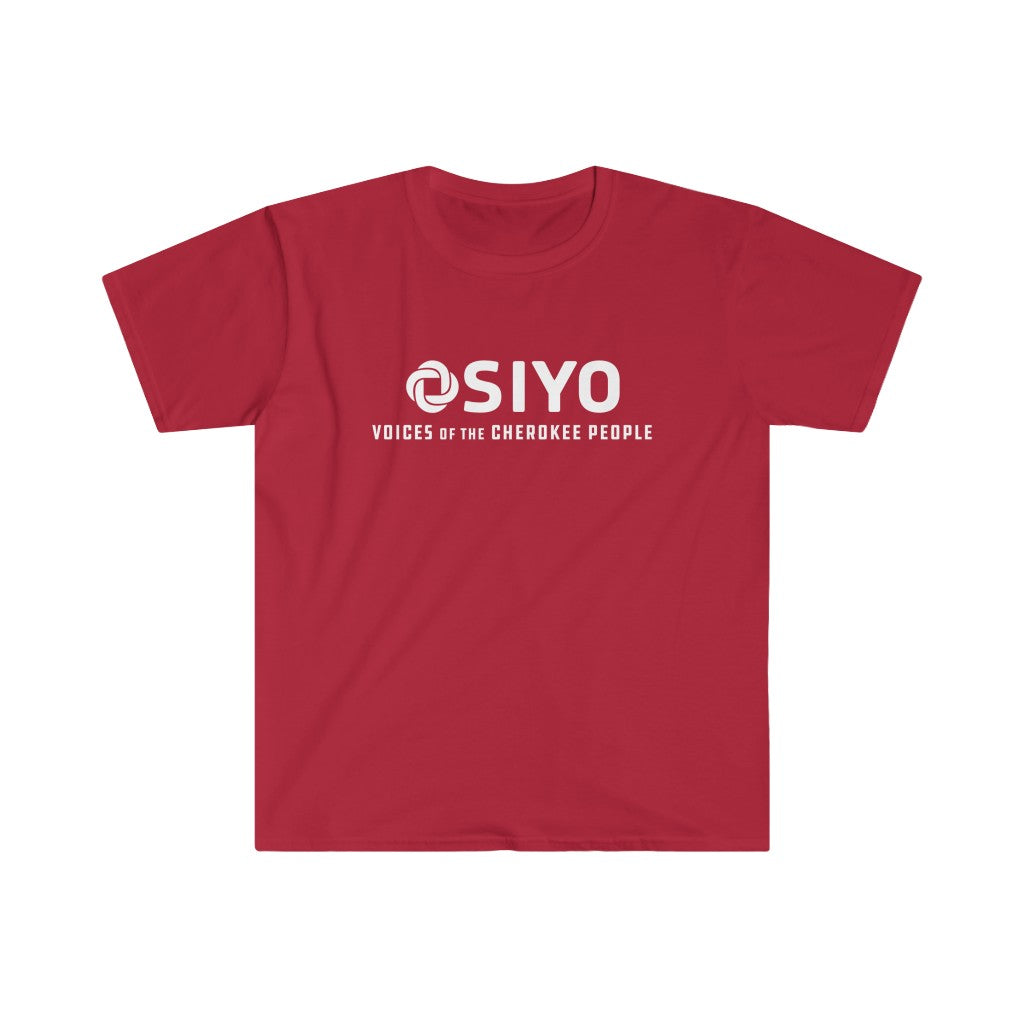 Gender Neutral Softstyle Tee - Red