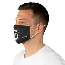 Load image into Gallery viewer, Osiyo Fabric Face Mask - Black