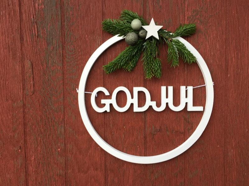 Salling-ring med god jul
