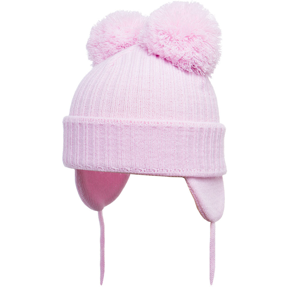 Satila of Sweden Minnie Pink Pom Pom Hat