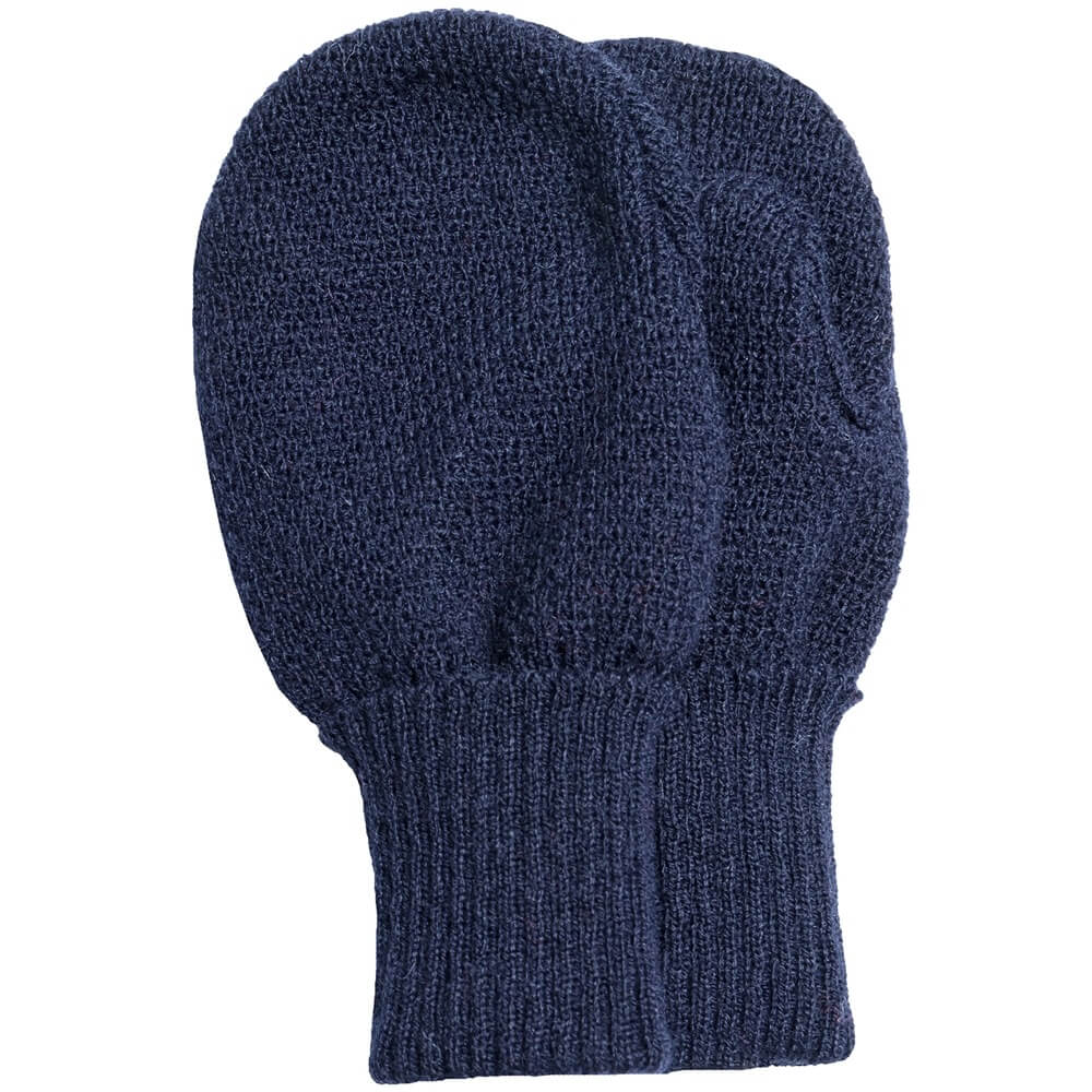 Satila Navy Blue Twiddle Mittens