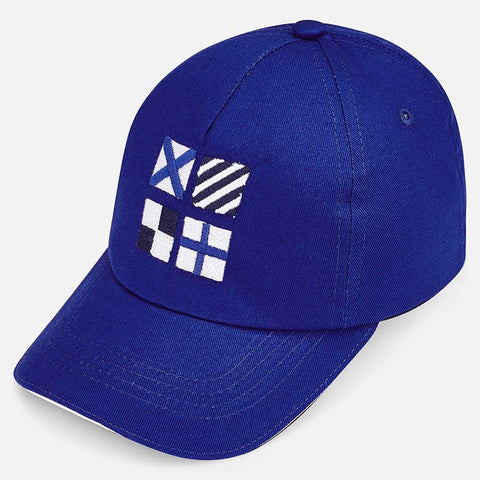 Mayoral Boys Royal Blue Baseball Cap 10582