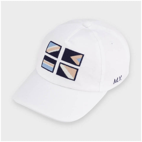 MAYORAL White Baseball Cap