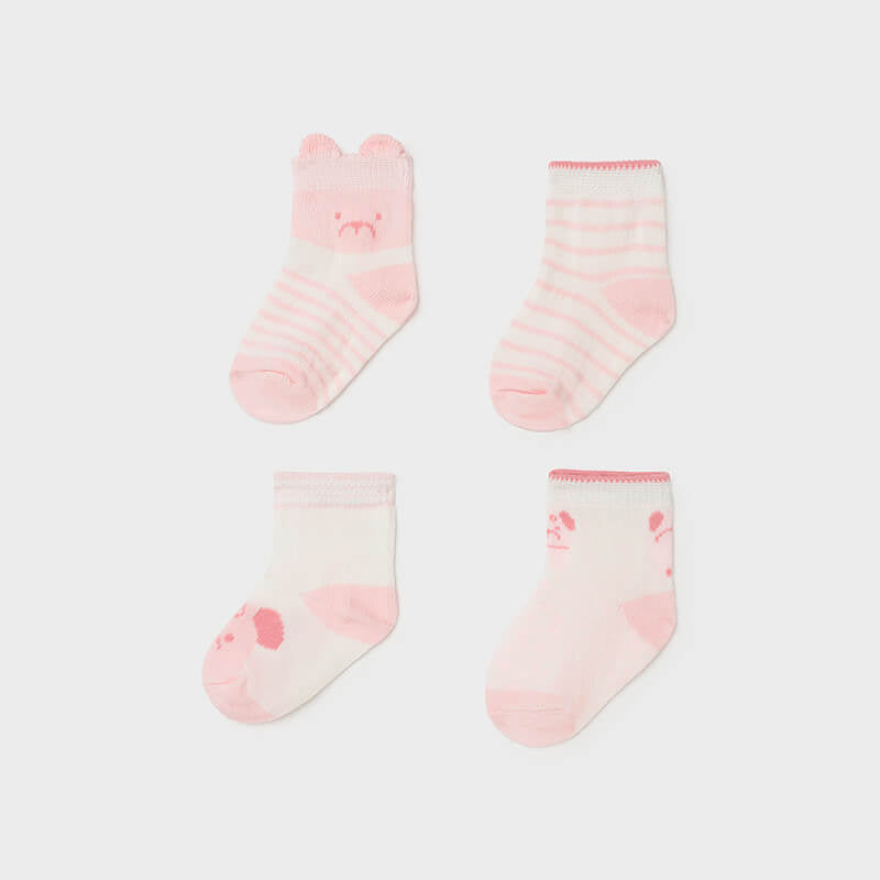 MAYORAL Girls Four Pack Socks