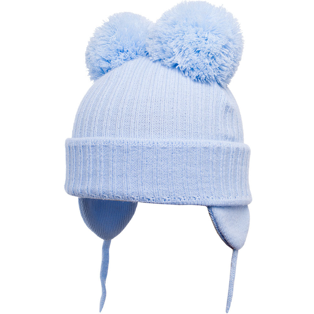 Satila of Sweden Minnie Blue Pom Pom Hat