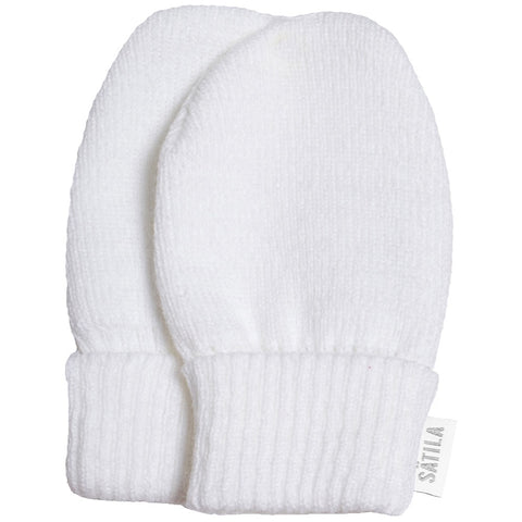 Satila White Trixie Mittens