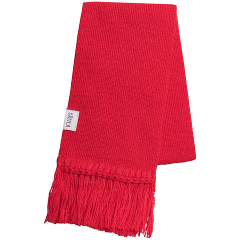 Satila Red Collin Scarf
