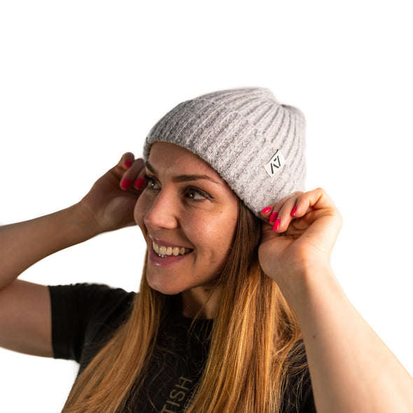This Cozy beanie is just that! We set out to find a perfect fold beanie fit and bundled this fit with a soft stretchy wool feel fabric. This stretch-fit beanie will help you keep your head and ears warm throughout the seasons.
