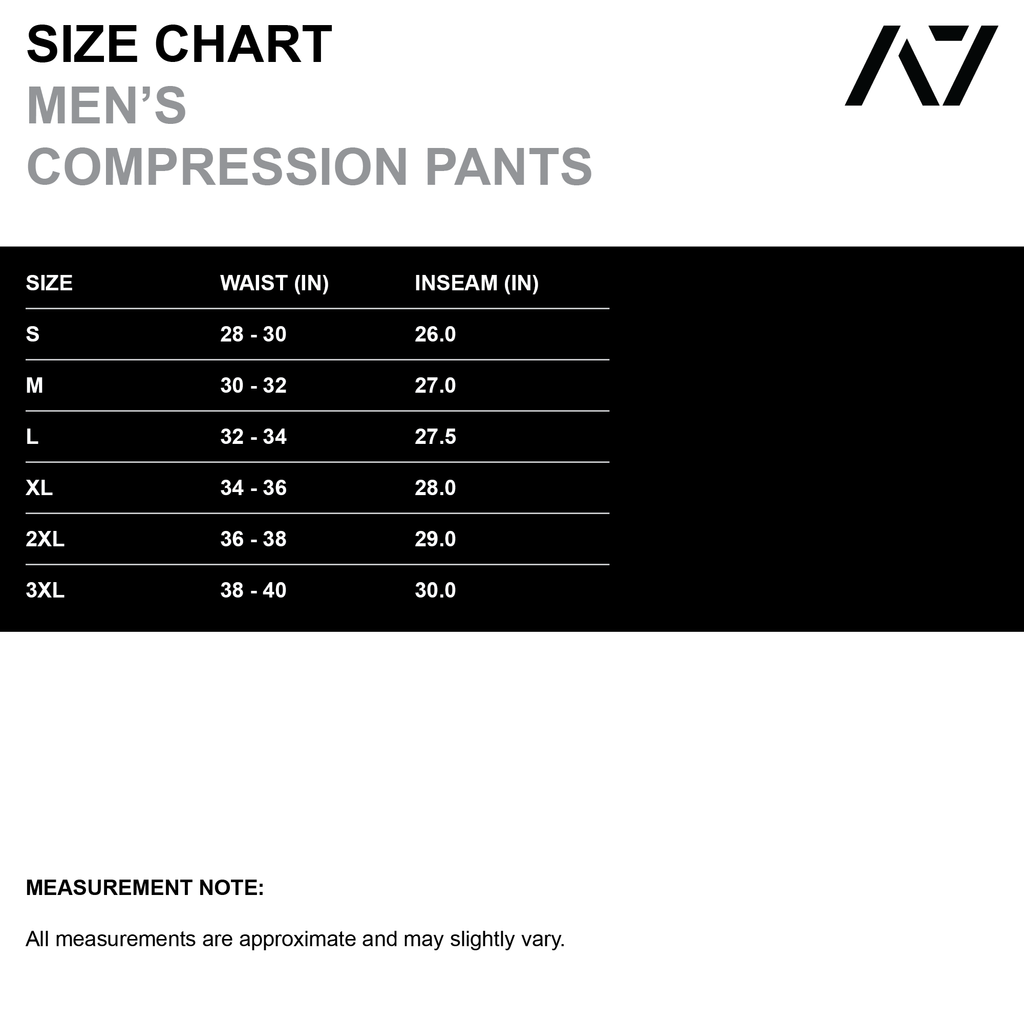 Compression pants for a true lifter. Keeping comfort and performance in mind, we have developed the perfect compression pants for a strength athlete. With the added room where necessary, the A7 Ox compression pants offer maximum comfort and coverage. The large cell phone pocket on the side allows you to keep your phone close-by when lifting and the clip keeps your keys handy.