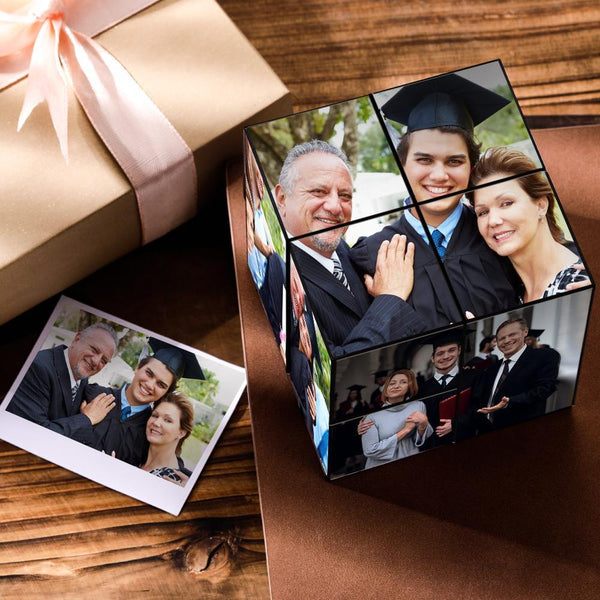 Custom DIY Magic Folding Photo Rubik's Cube | Personalized Graduation Gifts