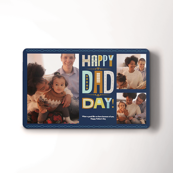 Custom Photo Wallet Insert Card | Father's Day Gift Card