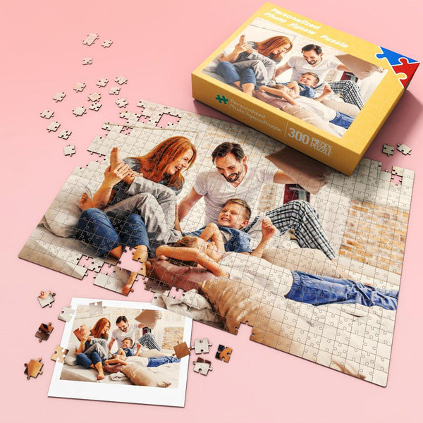 Custom Photo Jigsaw Puzzle Best Gift for Stay-at-home 35-1000 pieces