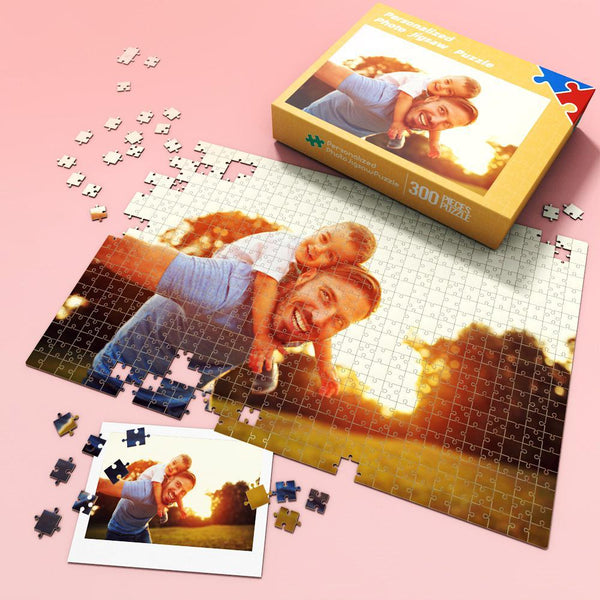 Custom Photo Jigsaw Puzzle Best Gift for Stay-at-home 35-1000 pieces | World's Best Dad