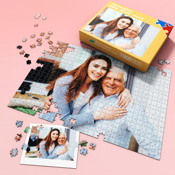 Custom Picture Jigsaw Puzzle Best Gift for Stay-at-home 35-1000 pieces Best Dad Forever