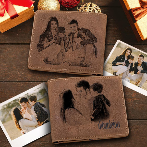 Custom Double-Sided Photo Wallet