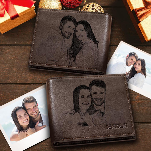 Custom Trifold Double-Sided Photo Wallet