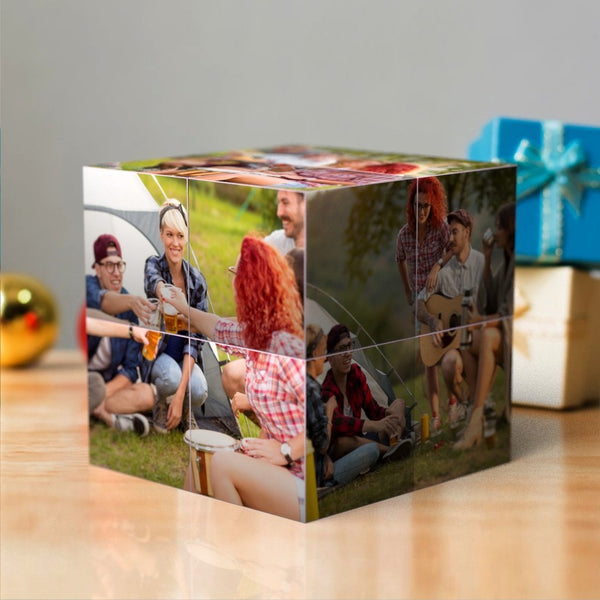 Custom Multi Photo Folding Magic DIY Rubik's Cube For Best Friends