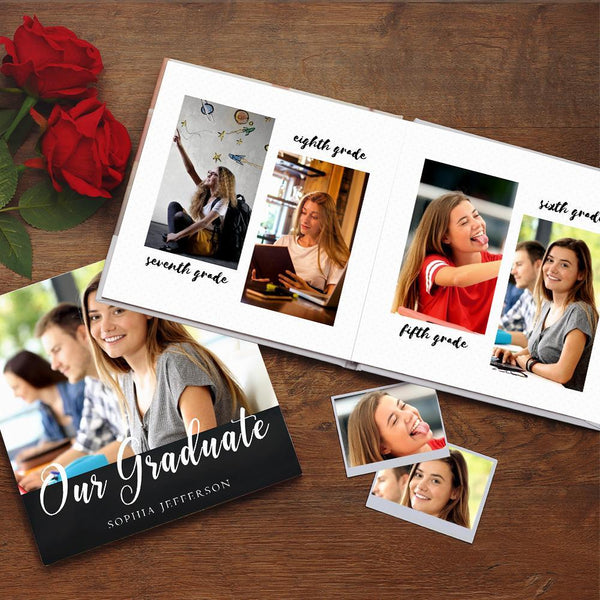 Custom Photo Book Online Design Graduation photo Album