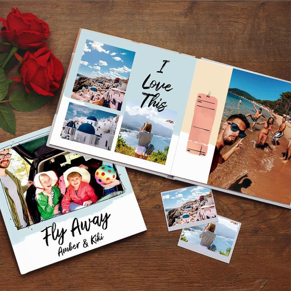 Custom Photo Book Online Design Travel Photo Album