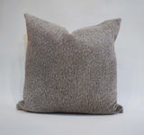 Natural Gray Cowhide Pillow