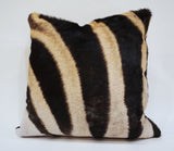 African Zebra Pillow