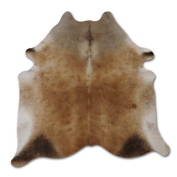 Gray Brown Cowhide
