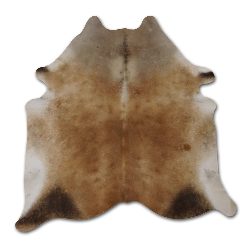 gray brown cowhide rug