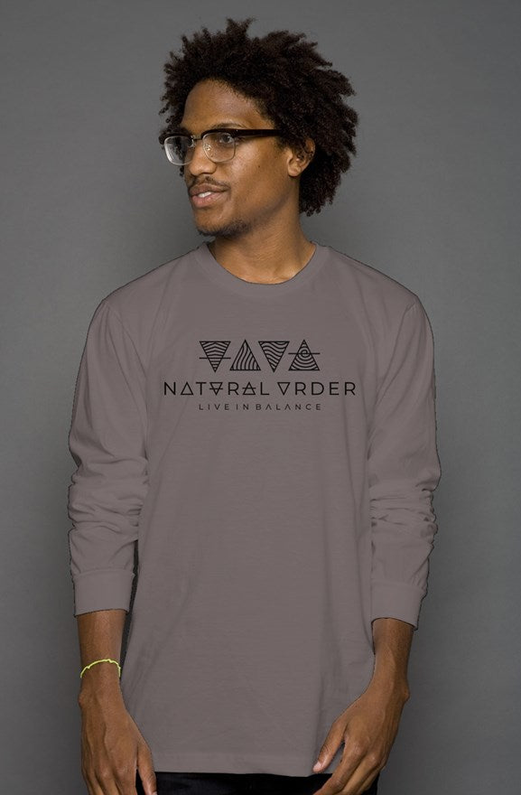 Men's Long Sleeve T - Natural Order Clothing