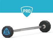Juego de Barras Fijas Rectas (Poliuretano) /  Fixed PU Straight Barbell set