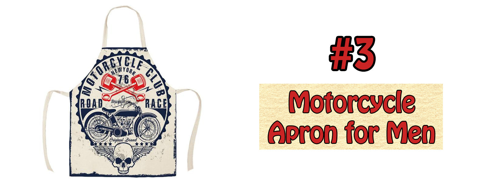 Motorcycle Apron for Men