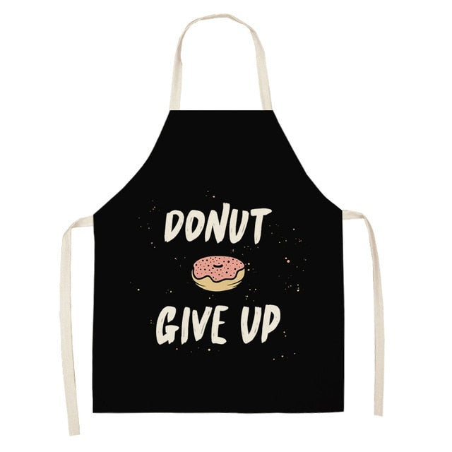 Donut Give Up <br /> Apron for Women