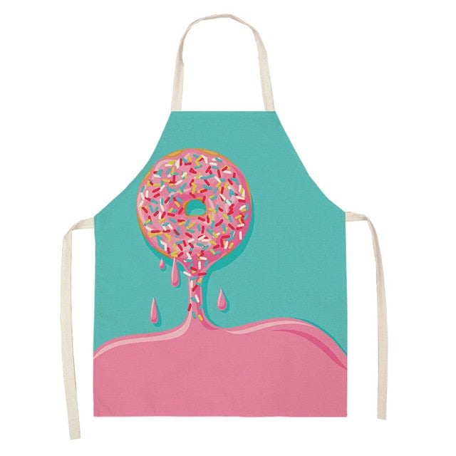 Pink Donut <br /> Apron for Kids
