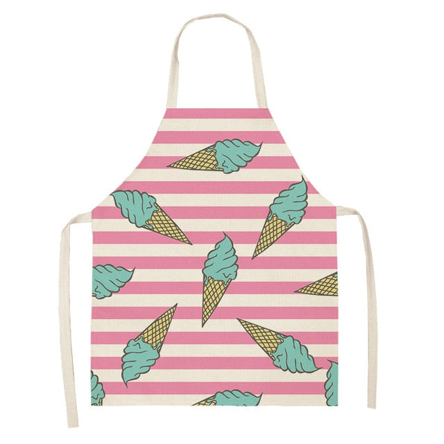 Blue Ice Cream <br /> Apron for Kids