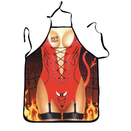 Funny <br /> Devil Girl Apron