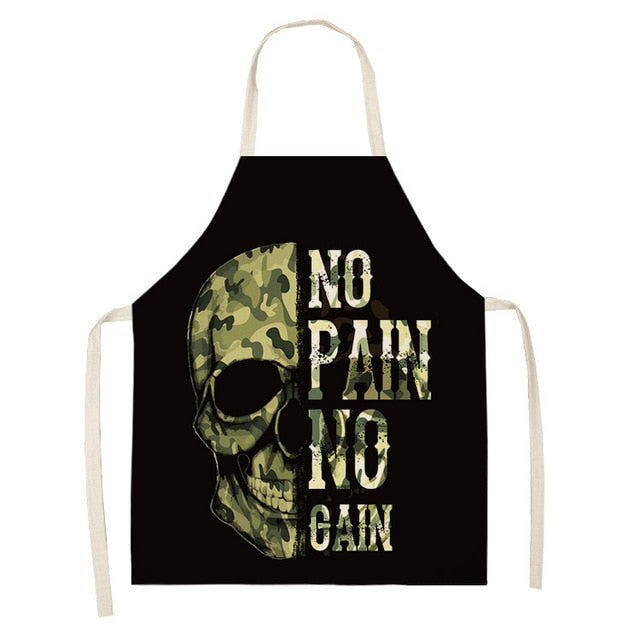 Skull Army <br /> Apron for Men