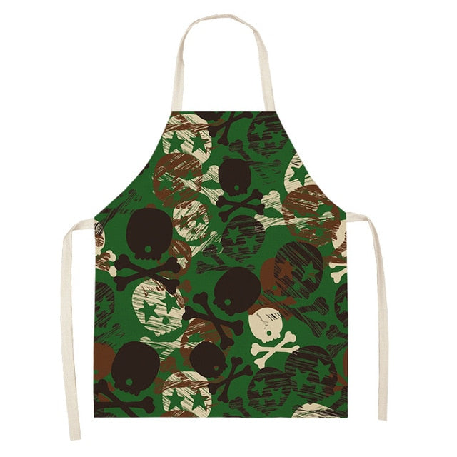 Army Skull <br /> Apron for Women