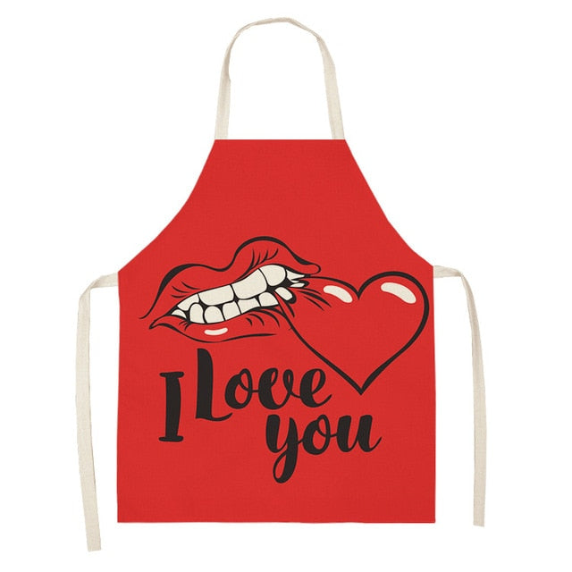 I Love You <br /> Apron for Women