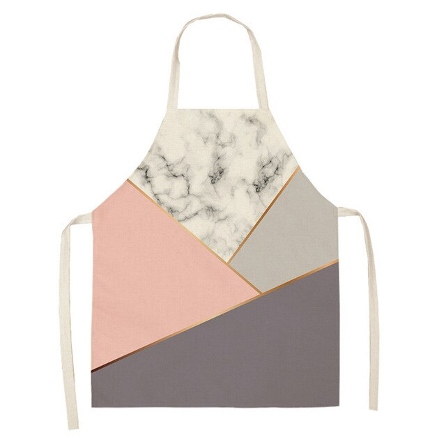 Pastel Marble <br /> Apron for Women