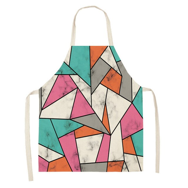 Colorful Marble <br /> Apron for Women