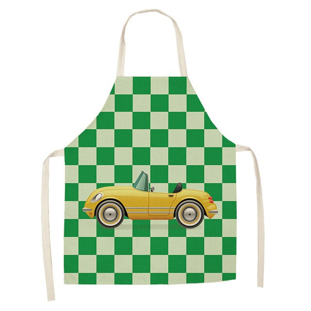 Yellow Car <br /> Apron for Kids