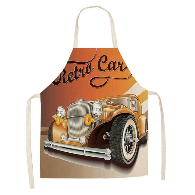 Retro Car <br /> Apron for Men
