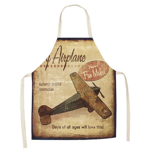 Vintage Airplane <br /> Apron for Men