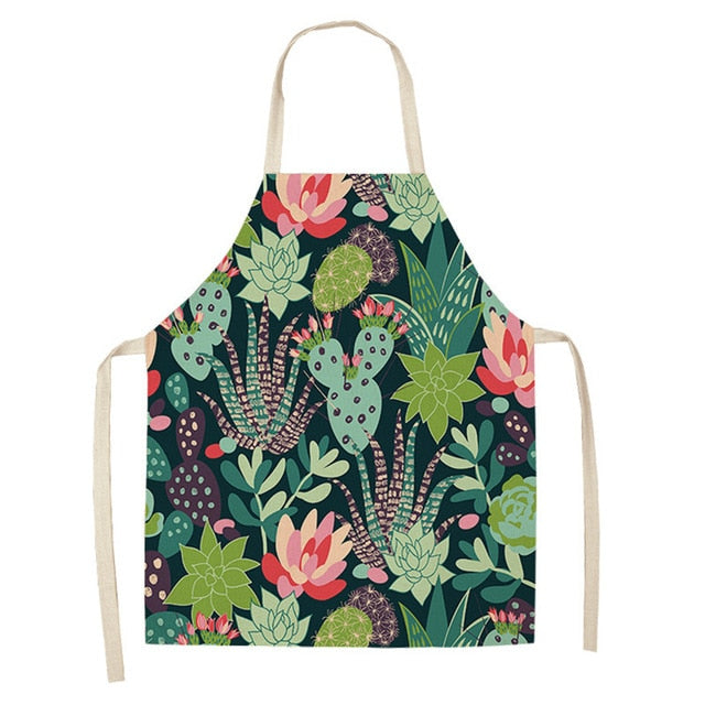 Flower Cactus <br /> Apron for Women