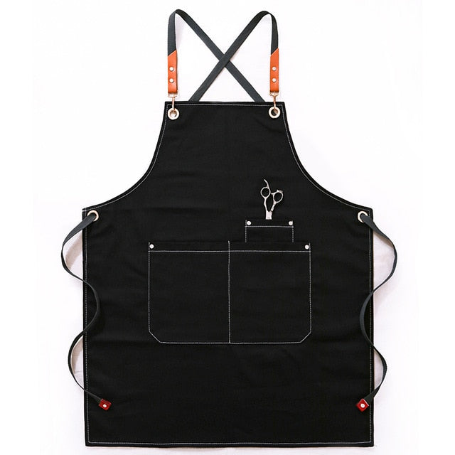 Denim Hair Stylist <br /> Apron