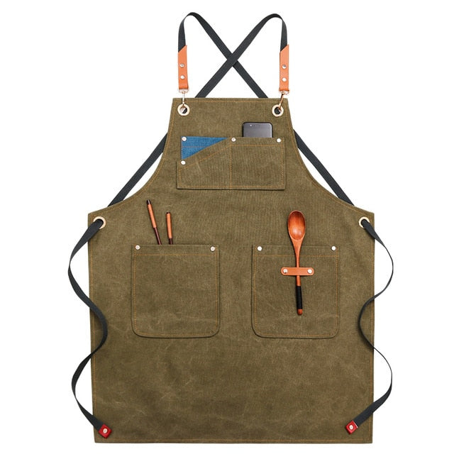 Cross Back <br /> Cooking Apron
