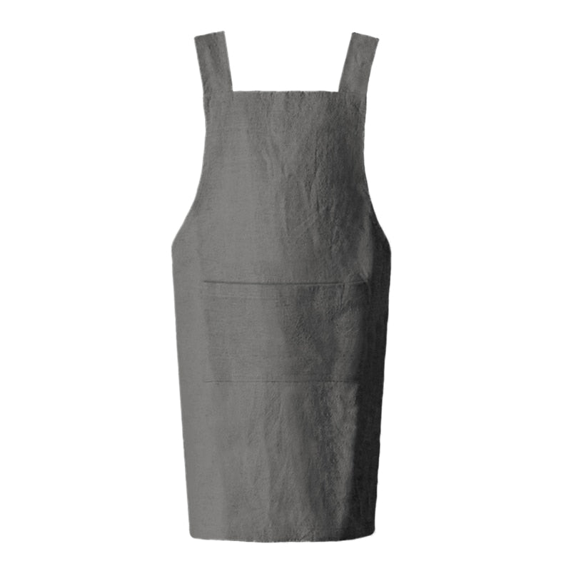 Grey <br /> Japanese Apron