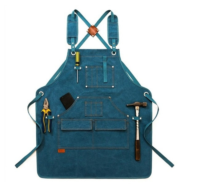 Cross Back <br /> Garden Apron